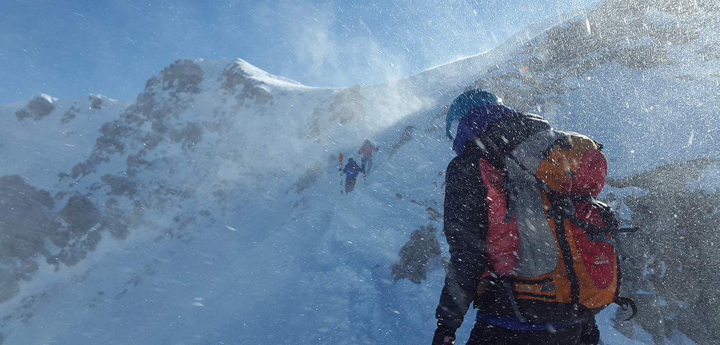 Bautismo de Alpinismo